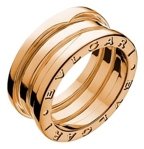 BVLGARI BVLGARI B.ZERO1 RING 3 BAND ROSE GOLD AN852405 US 6