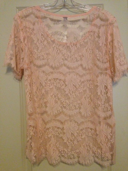 Fossil Top Pink
