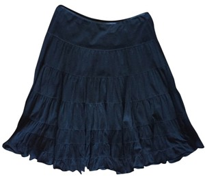 The Limited Twirl Fun Midi Skirt Black