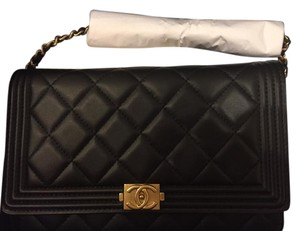 Chanel Wallet Wallet On Chain Luxury Handbag black Clutch