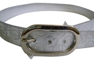 Michael Kors MK MICHAEL KORS SILVER BELT 553347 LARGE
