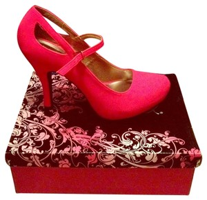 Qupid hot pink Pumps