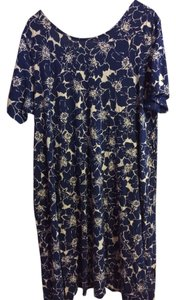 Lands End short dress navy on Tradesy