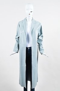 Dusan Powder Leather Trench Coat