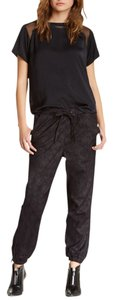 Black Orchid Denim Relaxed Pants Black Python