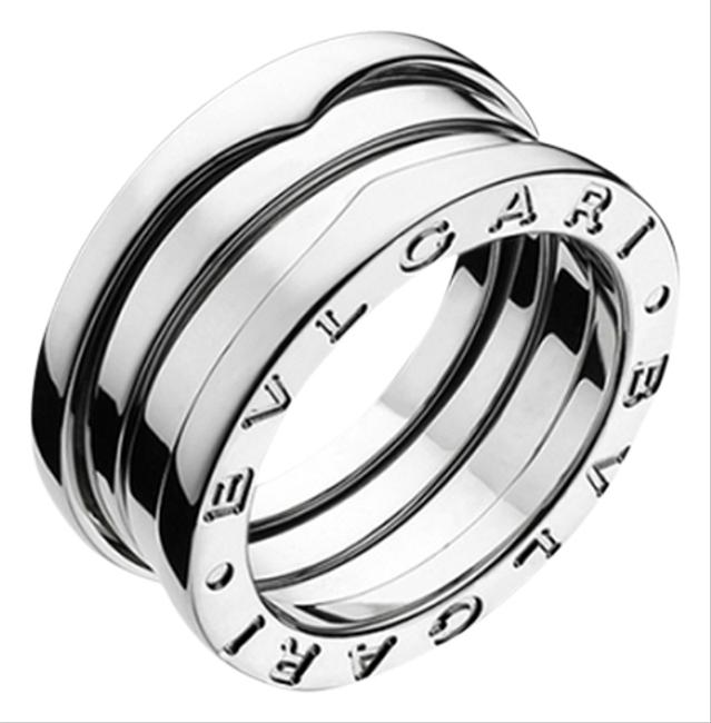BVLGARI White Gold B.zero1 18k 3 Band Ring BVLGARI White Gold B.zero1 18k 3 Band Ring Image 1