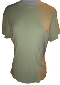 Old Navy Cotton Casual T Shirt Light Green