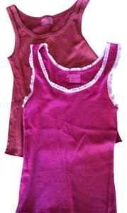 Michael Stars Top Red And Pink