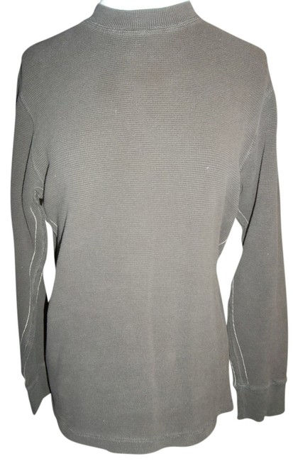 Old Navy Thermal Comfy Casual T Shirt Brown