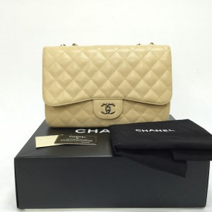 Chanel Caviar Jumbo Classic Shoulder Bag