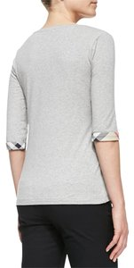 Burberry Brit Tshrits Shrits T Shirt gray