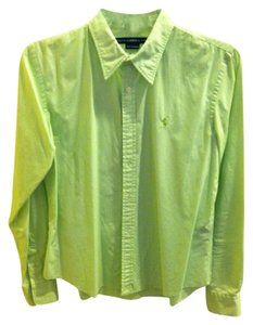 Ralph Lauren Button Down Shirt lime green
