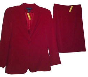 Preston & York Red Suit