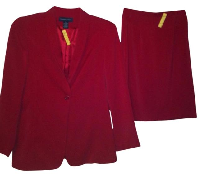 Item - Red Skirt Suit Size 10 (M)