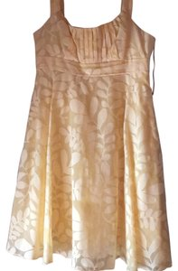 Maggy London short dress Yellow on Tradesy