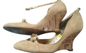 Fluxus beige Pumps