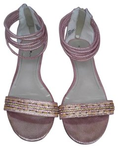 Bandolino Pink and gold Sandals