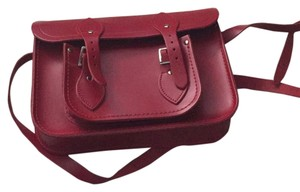 The Cambridge Satchel Company Red Messenger Bag