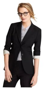 THEORY NWT $395 SALE!!! RORY 'Tailor' LONG Fitted Classic Black Blazer 4 RARE!! Blazer