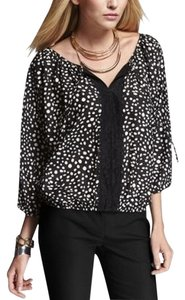 Express Dolman Top Polka Dot