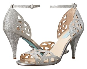 Betsey Johnson Blue By Sofia Wedding Prom Size 11 Women silver Sandals