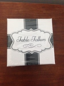 Brand New Un-opened Set. Talkers Conversation Card; 35/set