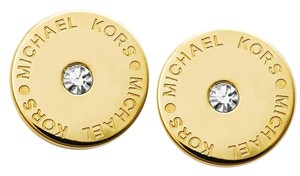 Michael Kors 10% off until 9/30-SET Padlock Pendant & Logo Crystal Studs