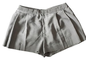 Rachel Roy Mini/Short Shorts Navy stripe