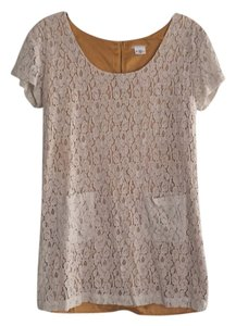 Urban Outfitters short dress Cream and Mustard on Tradesy