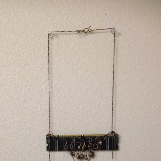 Other Recycled Computer Necklace