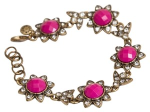 J.Crew New Jcrew Fuchsia Pink Bracelet with pouch