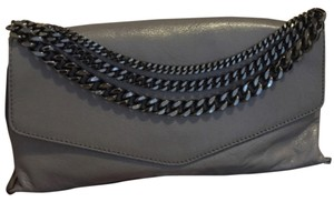 MILLY Charcoal Clutch