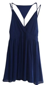 LAmade short dress Blue on Tradesy