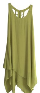 BCBG Paris short dress Lime Green on Tradesy