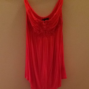 Forever 21 Top Red Orange