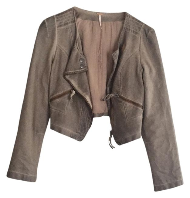 Item - Tan Jacket Size 6 (S)