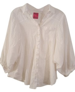 Free People Breezy Top White
