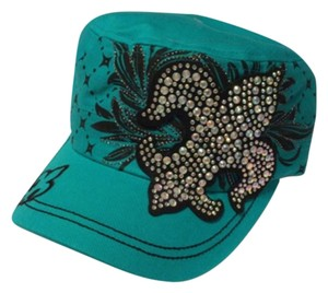 K&B Trading Corp NWT Blingy Baseball Hat With Iridescent Crystals.