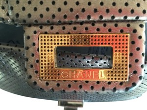 Chanel Flap Chain Perforated Leather Reissue Shoulder Bag