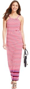 Pink Maxi Dress by Tommy Hilfiger Halter Comfortable Chic Maxi Summer