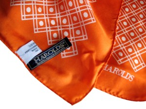 Other Harold's Dots and Squares Silk Scarf, 20
