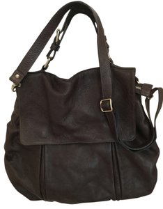 Gianni Chiarini Satchel in Dark Grey
