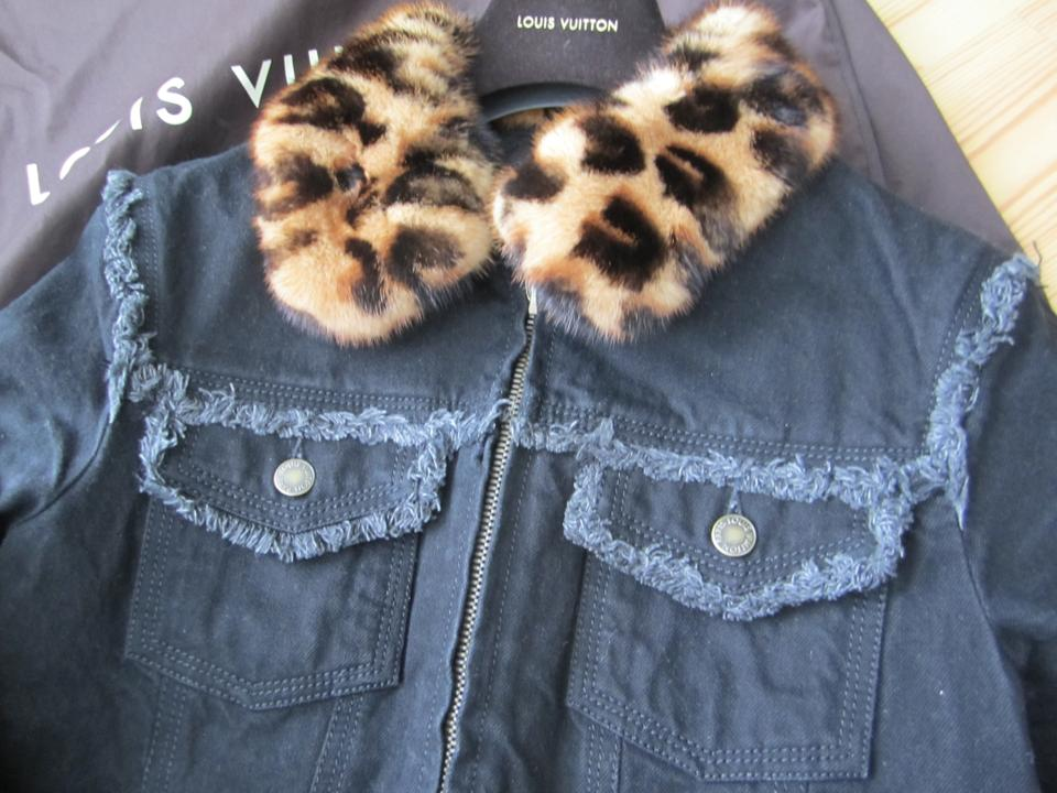 3f786e2b4418 Louis Vuitton Neverfull Totally Delightful Artsy dark blue Womens Jean  Jacket Image 10. 1234567891011