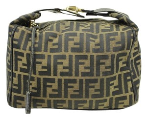 Fendi Monogram Satchel in Tobacco