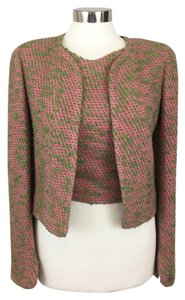 Chanel Vintage Tweed Boucle Pink Jacket