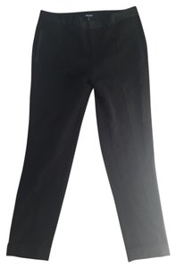 Madewell Dress Pant Black Loose Accent Straight Pants