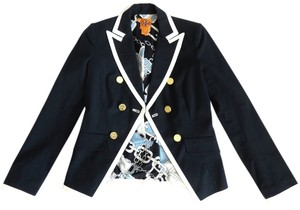 Tory Burch Navy/White Jacket