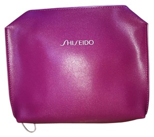 shiseido Cosmetic Case Pink Clutch
