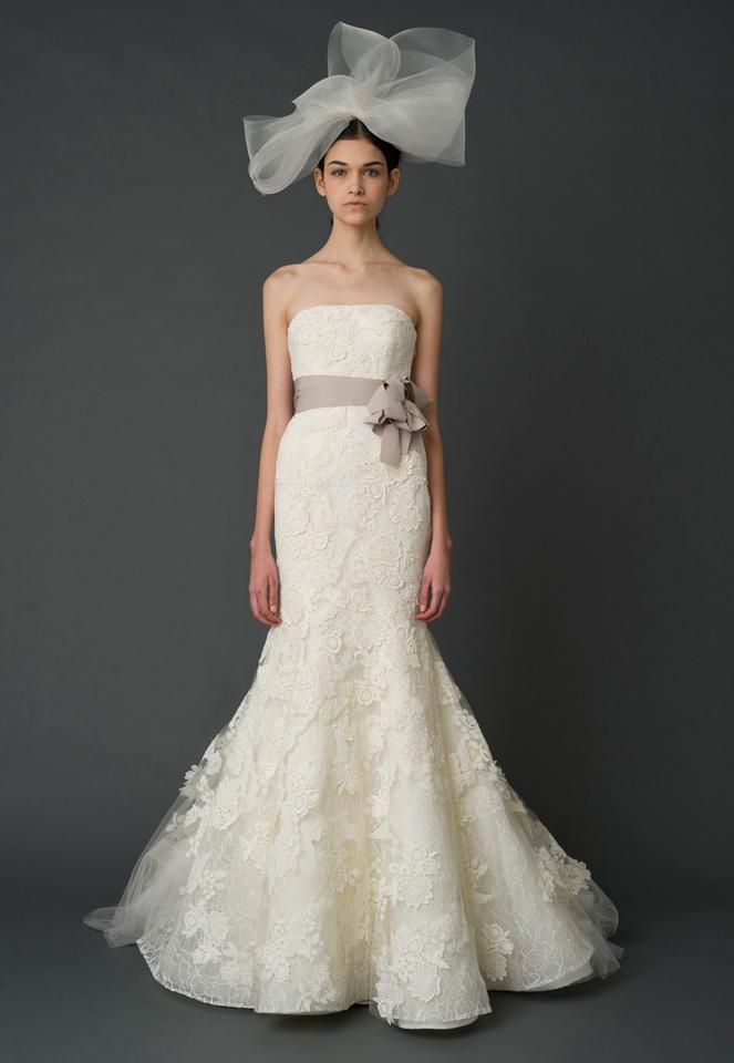 Vera Wang Bridal White/Cream Lace - Several Kinds Hilary Formal ...
