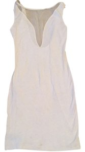 American Apparel short dress white on Tradesy